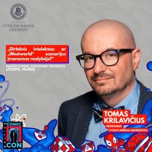 Tomas Krilavičius - Comic Con Baltics