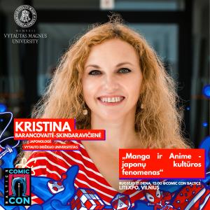Kristina Barancovaitė - Skindaravičienė - Comic Con Baltics