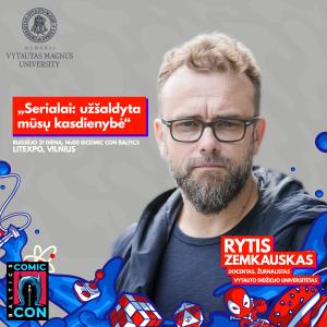Rytis Zemkauskas - Comic Con Baltics
