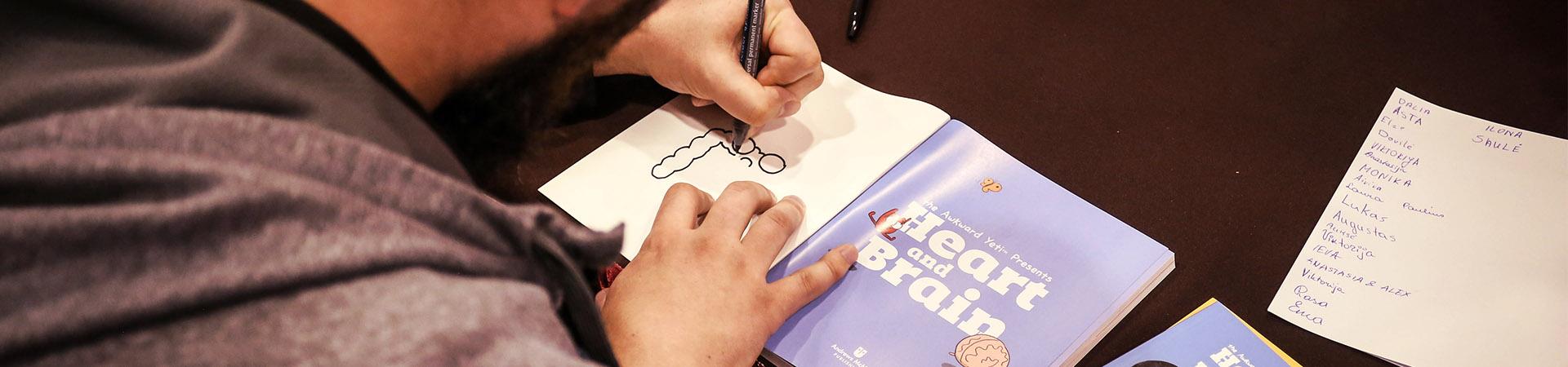 Autografai ir fotosesijos